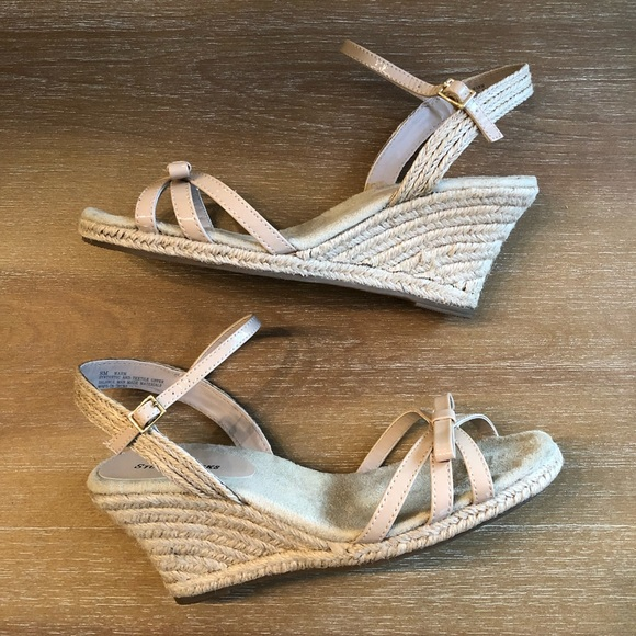 Studio Works Shoes | Wedge Sandals Nude